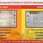 Railway Tickets in Tamil and Malayalam Also