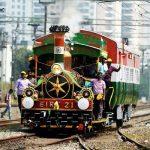 Maiden heritage run of the world's oldest working steam loco EIR 21 from Puducherry to Chinna Babu Samudram